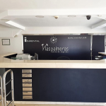 recepción centro de negocios